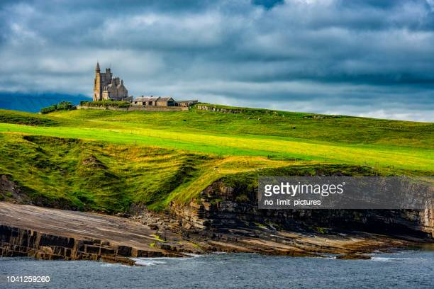 classiebawn castle in ireland - ireland stock pictures, royalty-free photos & images