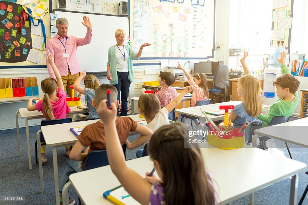 Classroom Discussion : Stock Photo