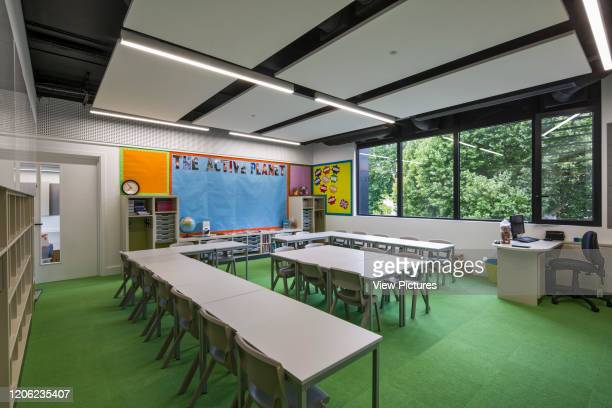 Classroom in new building Thomas's Battersea London United Kingdom Architect Hugh Broughton Architects Limited 2017