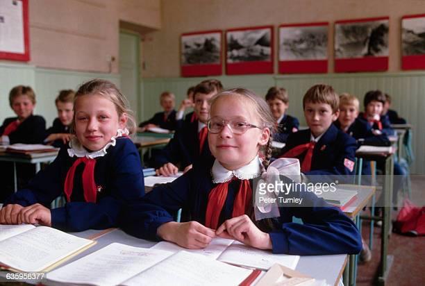 Classroom of Latvian Students