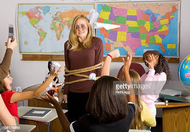 classroom series - prank stock photos and pictures