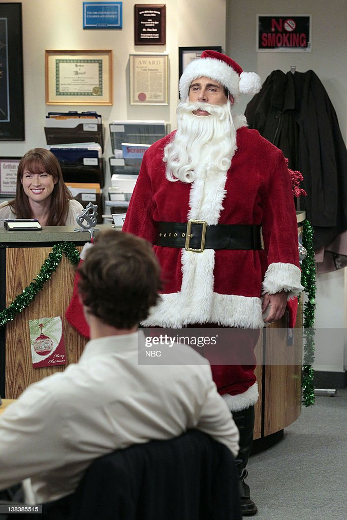 the office classy christmas episode 711 pictured i r - The Office Christmas Episodes