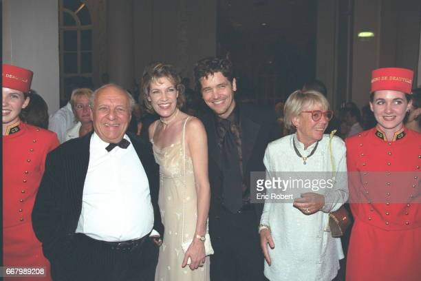 Claude Bolling Michael Damian with his wife and X