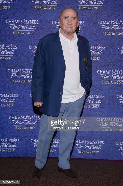Claude Brasseur attends the 6th Champs Elysees Film Festival : Opening Ceremony in Paris on June 15, 2017 in Paris, France.