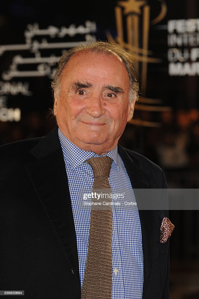 Claude Brasseur attends the Tribute to French Cinema during the Marrakech 10th Film Festival.
