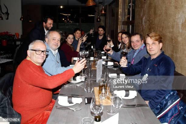Claude Duty guest Pierre Emmanuel Fleurantin Alysson Paradis Morgan Simon Remi Bezancon Frederique Bel guest and Laurent Guerrier attend ShortFilm...