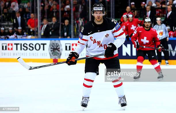 Claude Giroux of Canada skates against Switzerland during the IIHF World Championship group A match between Switzerland and Canada at o2 Arena on May...