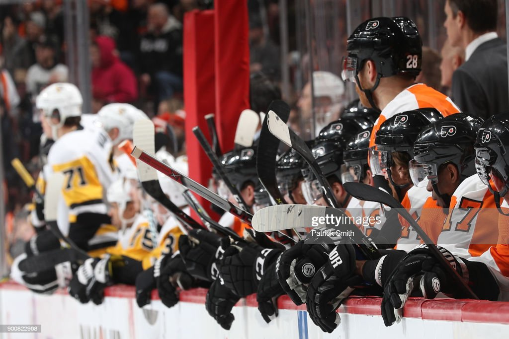 Pittsburgh Penguins v Philadelphia Flyers : News Photo