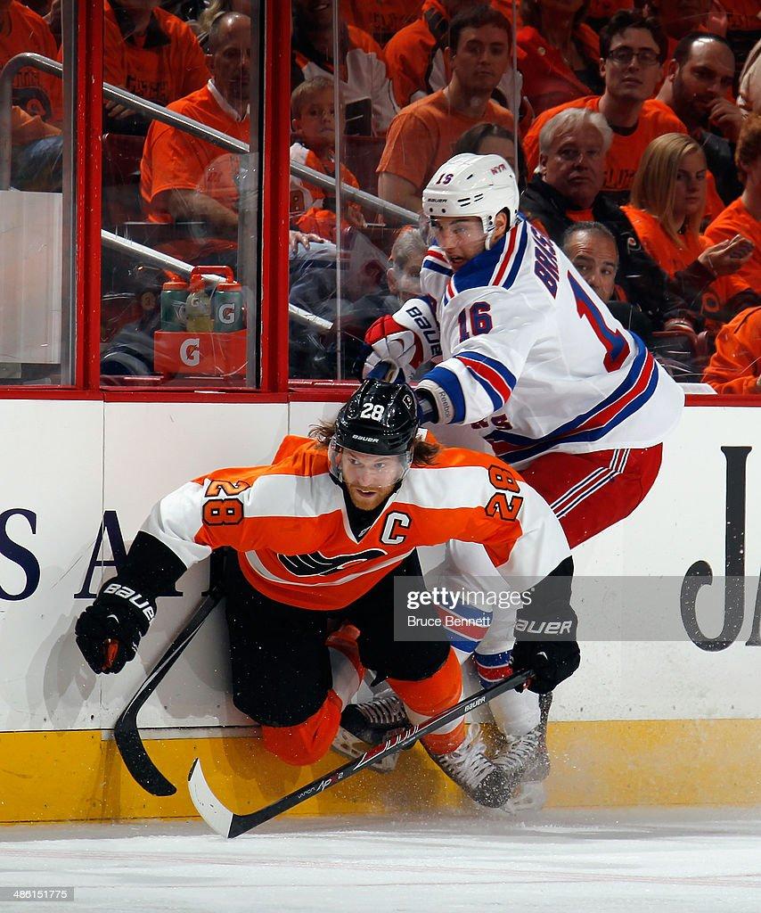 New York Rangers v Philadelphia Flyers - Game Three