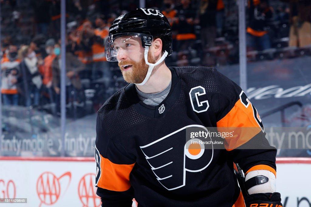 New Jersey Devils v Philadelphia Flyers : Fotografía de noticias