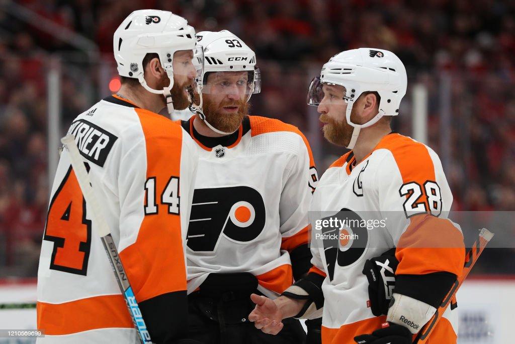 Philadelphia Flyers v Washington Capitals : News Photo