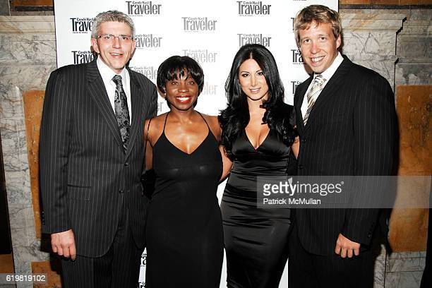 Claude Guillaume Olivia Brown Amy Eslami and Etienne Monat attend CONDE NAST TRAVELER Hosts Acclaimed Readers' Choice Awards Inside Backstage at New...