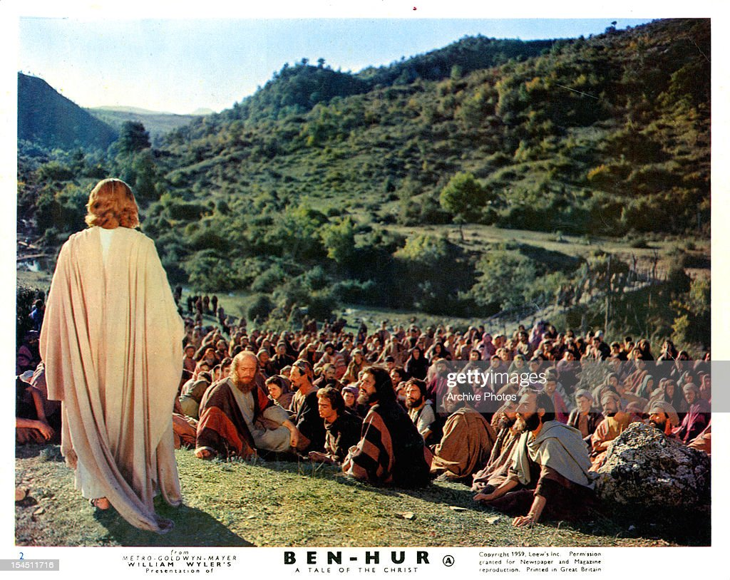Claude Heater In 'Ben-Hur' : News Photo