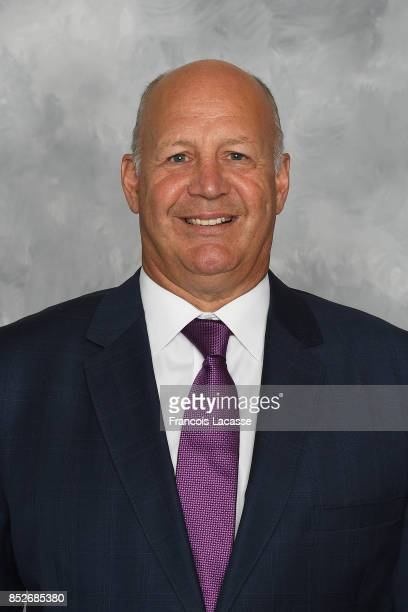 Claude Julien of the Montreal Canadiens poses for his official headshot for the 20172018 season on September 14 2017 at the Bell Sports Complex in...