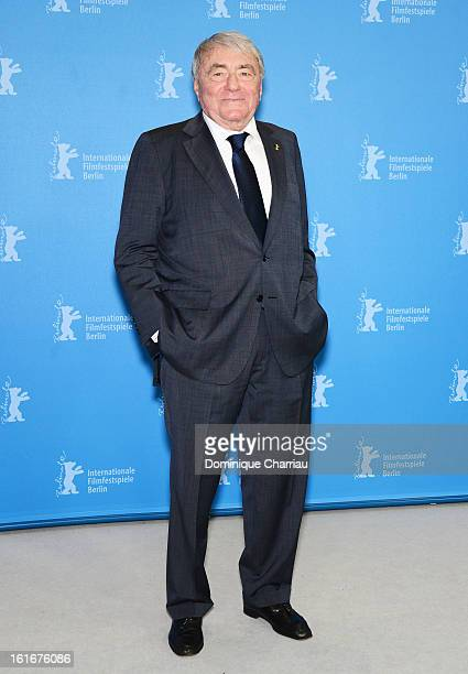 Claude Lanzmann attends the 'Golden Honorary Bear Award' Photocall during the 63rd Berlinale International Film Festival at the Grand Hyatt Hotel on...