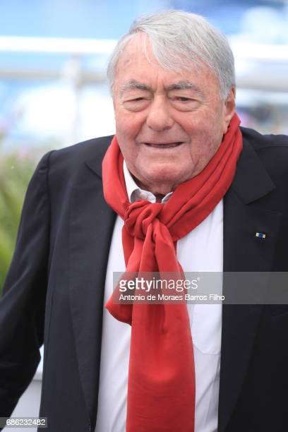 Claude Lanzmann attends the 'Napalm' Photocall during the 70th annual Cannes Film Festival at Palais des Festivals on May 21 2017 in Cannes France