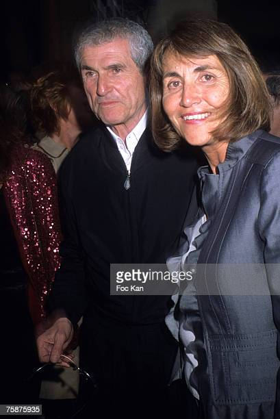 Claude Lelouch and Minister Of Culture Christine Albanel attend the Ministry Of Culture Cinema Festival Party At The Palais Royal on June 27 2007 in...