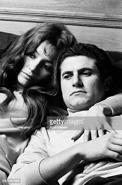 Claude Lelouch and Wife Christine Cochet