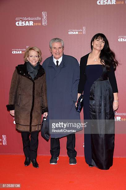 Claude Lelouch arrives at The Cesar Film Awards 2016 at Theatre du Chatelet on February 26 2016 in Paris France