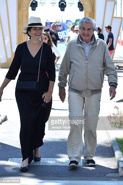 Claude Lelouch is seen on day 6 of the 68th annual Cannes Film Festival on May 18 2015 in Cannes France
