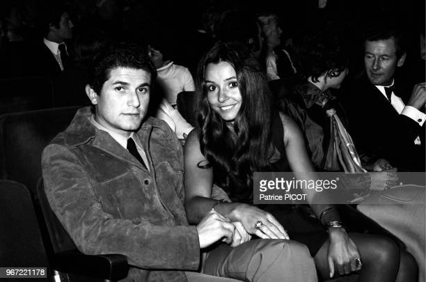 Claude Lelouch with his wife Christine