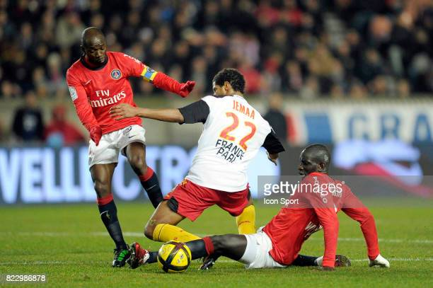 Claude MAKELELE / Issam JEMAA / Mamadou SAKHO PSG / Lens 23eme journee de Ligue 1