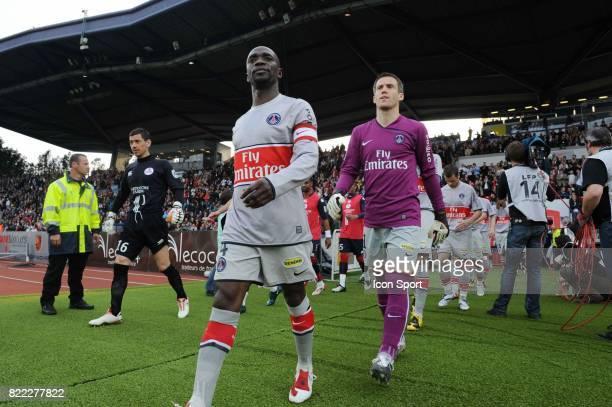 Claude MAKELELE / Mickael LANDREAU Lille / PSG 31 eme journee de Ligue 1 Stadium Nord Lille Villeneuve d'Ascq