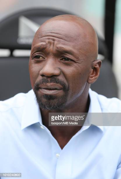 Claude Makelele pictured during the Jupiler Pro League match between Club Brugge and KAS Eupen at Jan Breydel Stadium on July 29 2018 in Brugge...