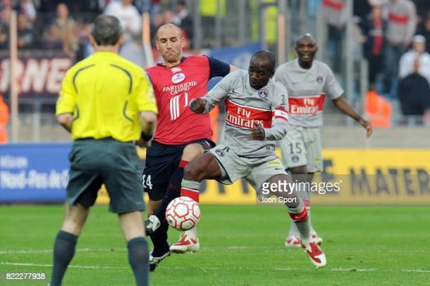 Claude MAKELELE / Robert VITTEK Lille / PSG 31 eme journee de Ligue 1 Stadium Nord Lille Villeneuve d'Ascq