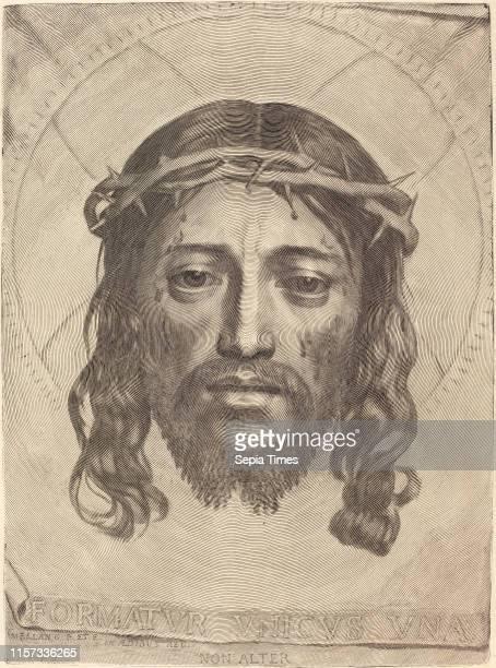 Claude Mellan The Sudarium of Saint Veronica engraving