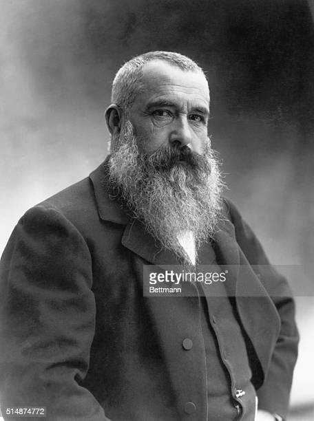 Claude Monet French impressionist painter Photograph by Nadar in 1899