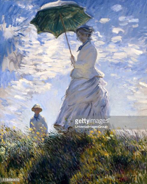 Claude Monet French impressionist painter The term Impressionism is derived from the title of his painting Impression Sunrise 'Woman with a Parasol '...