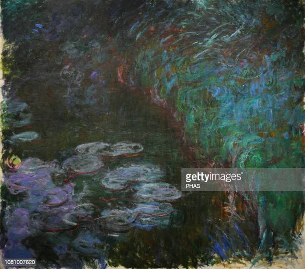 Claude Monet French painter Water Lilies ca1915 WallrafRichartz Museum Cologne Germany