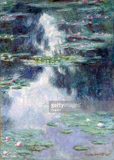 Claude Monet Pond with Water Lilies oil on canvas Israel Museum Jerusalem