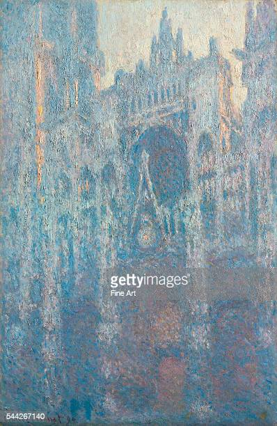 Claude Monet Rouen Cathedral West Façade in Morning Light oil on canvas 1003 x 651 cm J Paul Getty Museum
