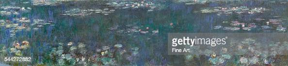 Claude Monet The Water Lilies Green Reflections 1914 26