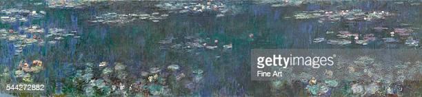 Claude Monet , The Water Lilies - Green Reflections, 1914-26, oil on canvas, 200 x 850 cm , Musée de l'Orangerie, Paris