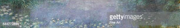 Claude Monet The Water Lilies – Morning 191426 oil on canvas 200 x 1275 cm Musée de l'Orangerie Paris