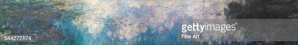 Claude Monet The Water Lilies The Clouds 191426 oil on canvas 200 x 1275 cm Musée de l'Orangerie Paris