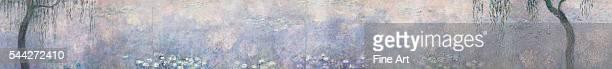 Claude Monet The Water Lilies The Two Willows 191426 oil on canvas 200 x 1700 cm Musée de l'Orangerie Paris
