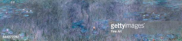Claude Monet The Water Lilies Tree Reflections 191426 oil on canvas 200 x 850 cm Musée de l'Orangerie Paris