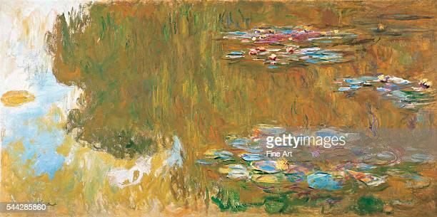 Claude Monet , The Water Lily Pond, c. 1917-19, oil on canvas, Albertina Museum, Vienna.