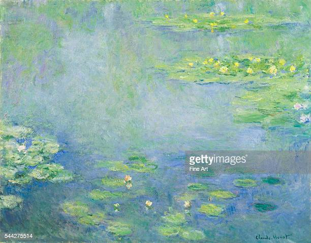 Claude Monet Waterlilies c 1906 oil on canvas 73 x 925 cm Ohara Museum of Art Kurashiki Japan