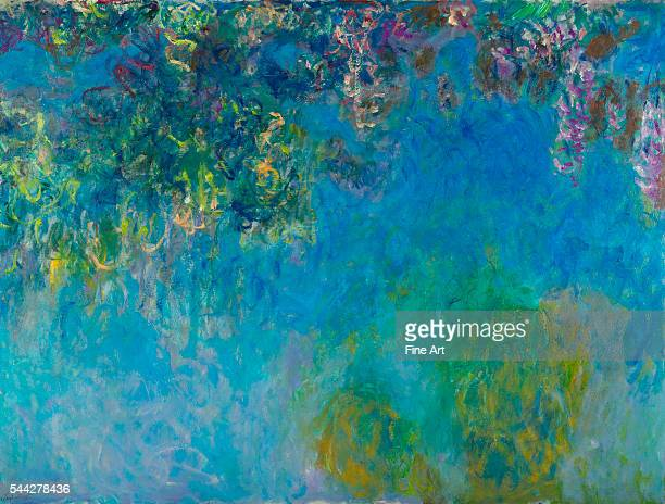 Claude Monet Wisteria c 1925 oil on canvas 1536 x 2035 cm Gemeentemuseum Den Haag The Hague Netherlands