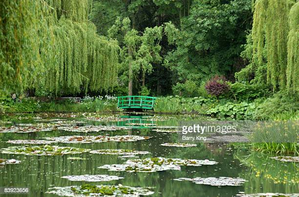 Claude Monet's Water Garden in Giverny near Paris France