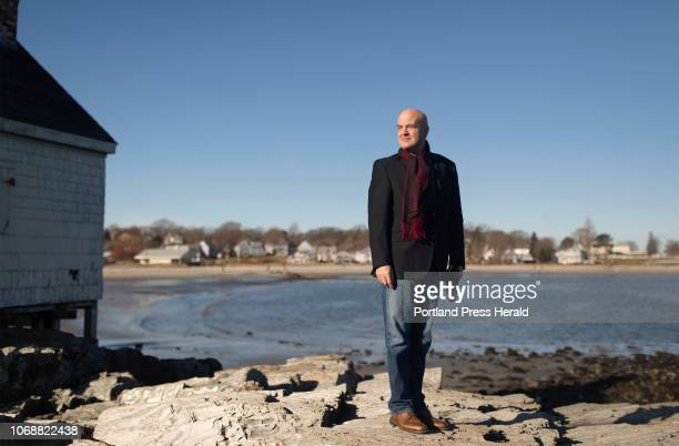 Claude Morgan the incoming mayor of South Portland poses for a portrait at Fisherman's Point next to Willard Beach in South Portland on Saturday...