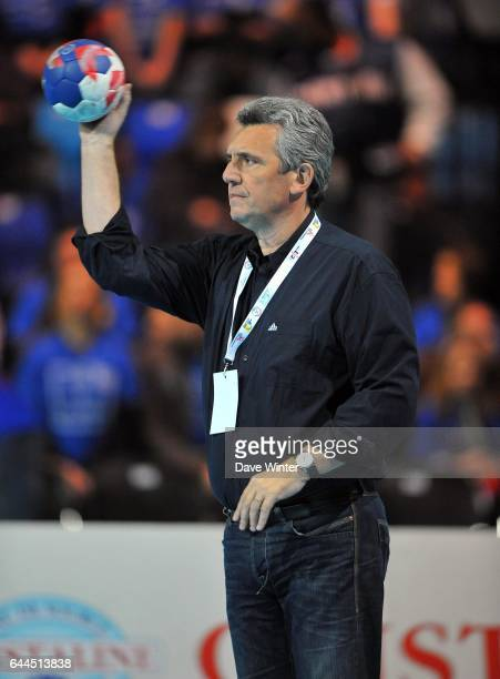 Claude ONESTA - - France / Serbie - Match amical a Lievin-, Photo : Dave Winter / Icon Sport,