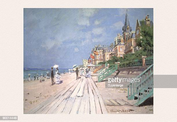 Claude Oscar Monet was a founder of French impressionist painting,
