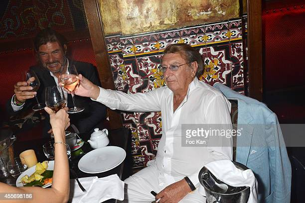 Claude Ott attends the Buddha Bar 18th Anniversary Party on September 18 2014 in Paris France
