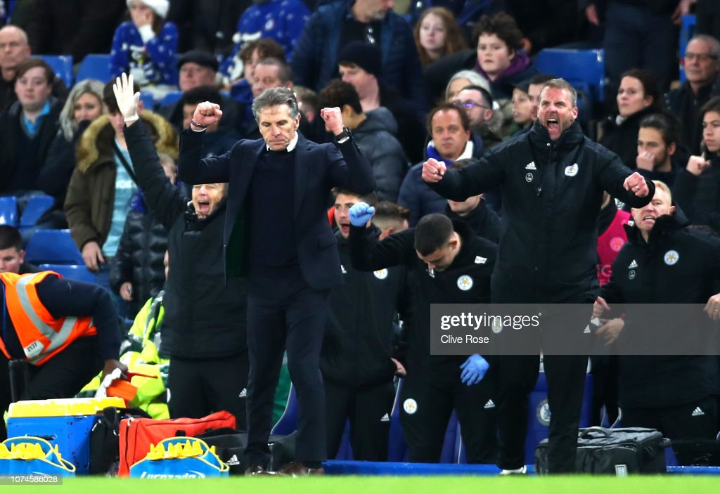 Chelsea FC v Leicester City - Premier League : News Photo